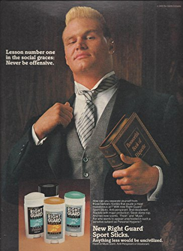 print-ad-with-nfl-brian-bosworth-for-1989-right-guard-deoderant