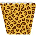 Creative Converting Treat Boxes, Leopard, 8 Per Package