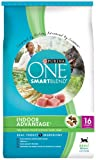 Purina ONE Smartblend Dry Cat Food, Indoor Advantage, 16-Pound Bag, Pack of 1
