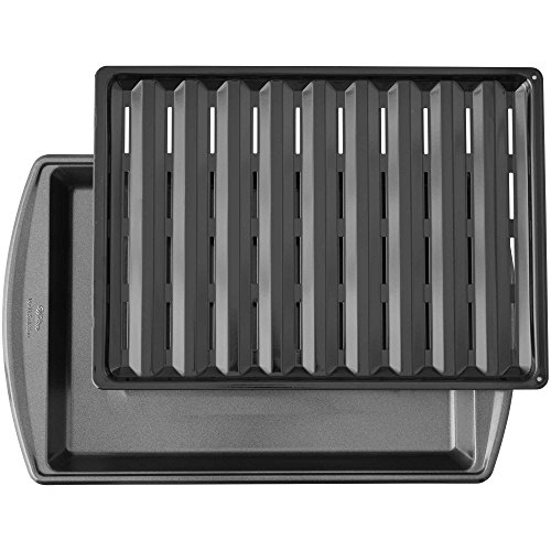 17-Inch Nonstick Broiler Pan in Gunmetal (Non Stick Broiler Pans For Ovens compare prices)