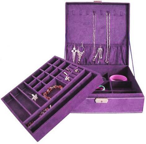 Aspire Lint Jewelry Box / Jewelry Organizer,