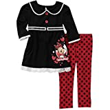 Minnie Mouse Toddler's 2 Piece Collar Tunic and Legging Set (3T)