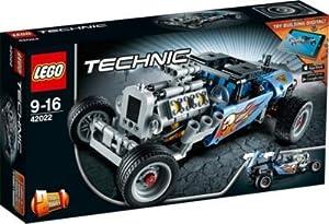 Genuine LEGO Technic Hot Rod - 42022 - Lego® Gift Wrapped Edition
