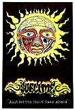 Sublime Sun Blacklight Poster Print, 23x35 Collections Blacklight Poster Print, 23x35 Blacklight Poster Print, 23x35