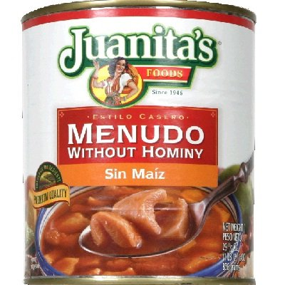 Juanita's Menudo Without Hominy, 25.0 Ounces (Pack of 12) (Canned Menudo compare prices)