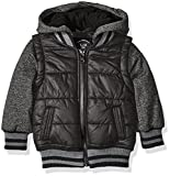 Urban Republic Boys' Infant Heavyweight Polyester Puffer Jacket, Black, 18 Months