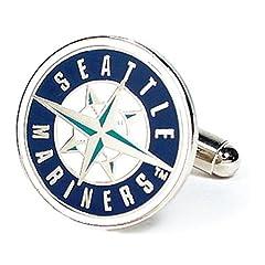 MLB Seattle Mariners Cufflinks by Cufflinks