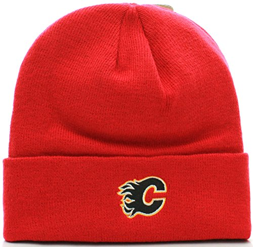 Knitting Room Calgary : Calgary flames knit hat hats