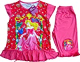 DISNEY PRINCESS SLEEPING BEAUTY Girls Clothes T Shirt and Shorts Outfit Set Size 8 Age 4-5 Years