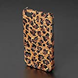 CAZE Animal Print Swarovski case for iPhone 4 - Leopard【高級スワロフスキーケース】