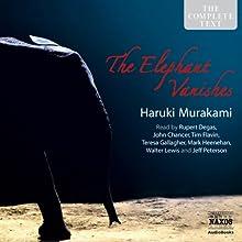 The Elephant Vanishes: Stories Audiobook by Haruki Murakami Narrated by John Chancer