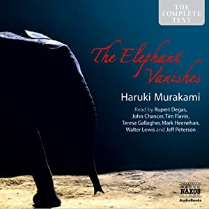 The Elephant Vanishes: Stories Audiobook