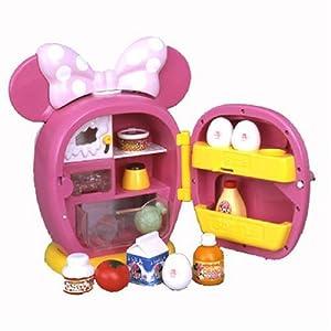 Fan Fan time Minnie Mouse Pretty ribbon refrigerator (japan import)