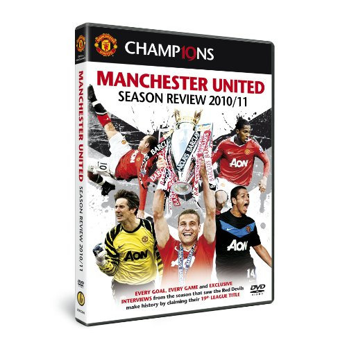 Cover art for  Manchester United Season Review 2010-2011 Soccer DVD