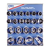 OTC 9850 6-Point Wheel Bearing Locknut Socket with Tool Board