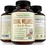 90 DAY SUPPLY - Sexual Wellness for Women and Men. The Best 100% All Natural Supplement. Increases Libido, Desire, Metabolism, Sex Drive, Stamina. Pure Maca Root Pills. 100% Money Back Guarantee