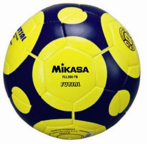 Mikasa Futsal test ball yellow and blue F リーグモデルレプリカ General / College / high school / junior high school FLL288-YB