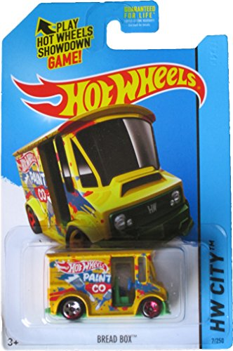 2014 Hot Wheels Hw City 7/250 - Bread Box