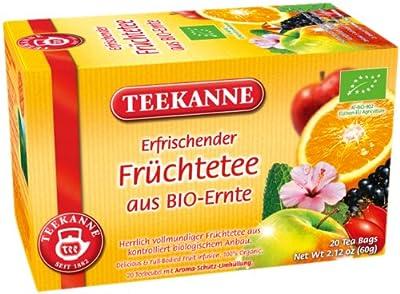 Teekanne Früchtetee aus BIO-Ernte 20 Beutel, 2er Pack (2 x 60 g Packung) von Teekanne - Gewürze Shop