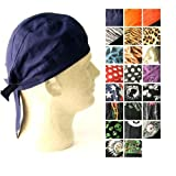 Urban Boundaries All Purpose Unisex Head Wrap (One Size Fits All, Tie Closure in Back)