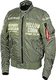 イエローコーンMA-1タイプウィンタージャケットYB-6321-KH-L YB-6321