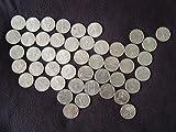1999-2008 P Complete UNC State Quarter 50-Coin Set