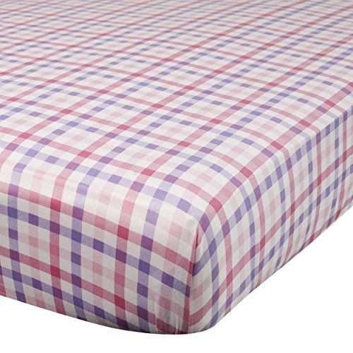 Plaid Crib Sheets front-828133