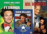Robin Williams Special Triple DVD Set: Flubber, Good Morning Vietnam & Mrs Doubtfire