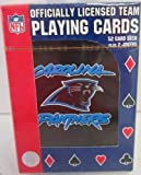 NFL Officially Licensed Carolina Panthers Pack of Playing Cards at Amazon.com