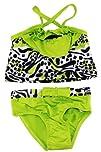 Pink Platinum Infant Girls Two Piece Leopard Bikini UV Ptotection