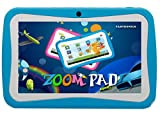 ZOOMPAD 7 BLUE KIDS ANDROID TABLET PC 442 KITKAT DUAL CAMERA WIFI NOW WITH FREE SILICONE CASE SCREEN PROTECTOR BLUE