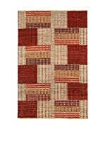 Design Community By Loomier Alfombra Bamiyan (Rojo/Multicolor)