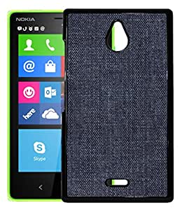 FCS Printed 2D Designer Hard Back Case For Nokia X2 With Universal Mobile Stand