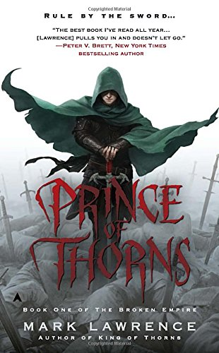 book cover of Prince of Thorns
