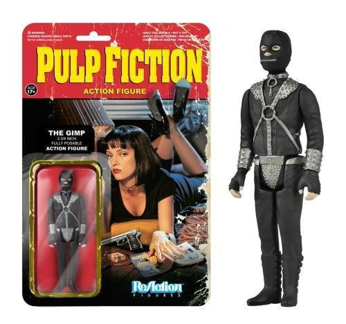 Pulp Fiction Funko 3 3/4`` ReAction Figure The Gimp ,#G14E6GE4R-GE 4-TEW6W278954