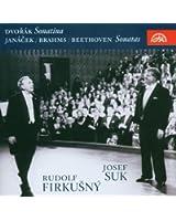 「フィルクシュニー&スーク、プラハの春1992年ライヴ」  (Josef Suk & Rudolf Firkusny, Live  Prague, 1992)