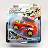RTR-13 (Orange) * Hyper-Maxx High-Torque Pull-Back Motorized Vehicle * 2013 Maisto Hyper Fast Lightw