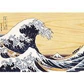 500ピース 冨嶽三十六景 神奈川沖浪裏 (38cm×53cm、対応パネルNo.5-B)