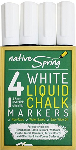 native-spring-white-liquid-chalk-marker-pens-45mm-reversible-tip-4-pack