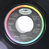 Queen 45 RPM I Want to Break Free / Machines (or
