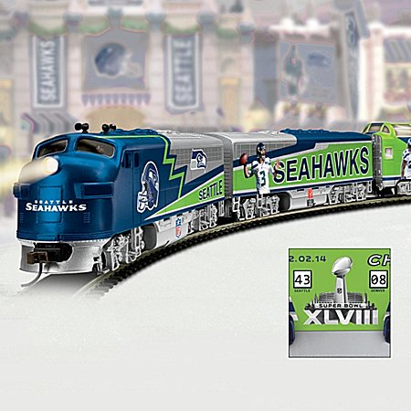 Express Train Collection: Seattle Seahawks Super Bowl Champions Express Train - Subscription Plan