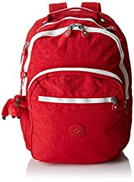 Kipling Seoul Laptop Backpack (Tango White C)