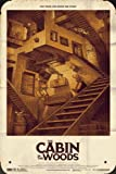Cabin In The Woods Ver6 Metal Poster Movie Tin Plate Sign 20*30cm