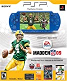 PlayStation Portable Limited Edition Madden NFL 09 Entertainment Pack- Metallic Blue