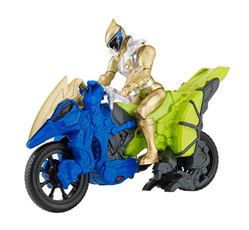 Power Rangers Dino Super Charge - Dino Cycle with 5