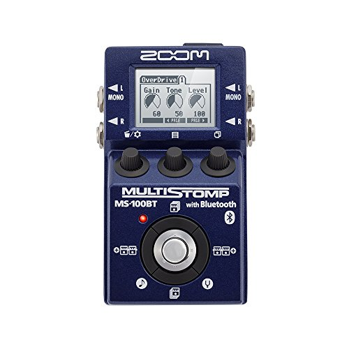 ZOOM MULTI STOMP with Bluetooth MS-100BT