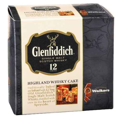 Walkers Glenfiddich Whisky Fruit Cakes-14.1 oz