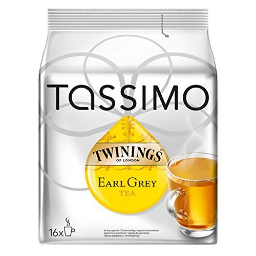 Choose Bosch Tassimo 'Twinings Earl Grey Tea' 16 T Disc Coffee Machine Capsules from Bosch