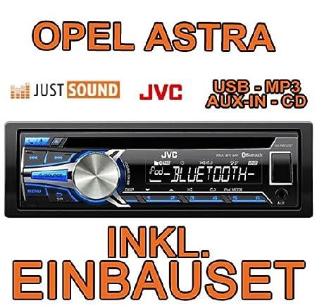 Opel astra f &g-jVC r852BT kD-cD/mP3/uSB avec kit de montage