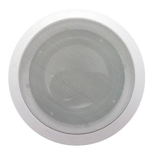 Acoustic Audio Cs-Ic83 8-Inch Round 3 Way Speaker (White)
